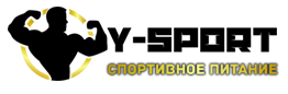 Логотип магазина спортивного питания Y-Sport.ru