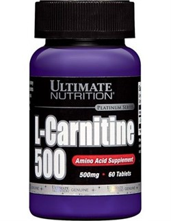 L-Carnitine 500 (60 tab) - фото 5506