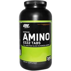 Superior Amino 2222 Tabs (320 tab) - фото 5569