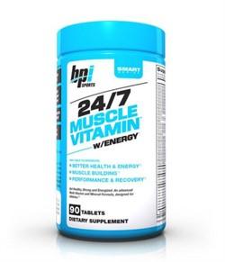 24/7 Muscle vitamin Energy (90 caps) - фото 5713