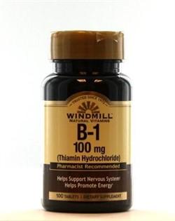 B-1 100 mg (100 tab) - фото 5897