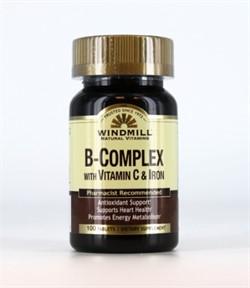 B-Complex With Vitamin C & Iron (100 tab) - фото 5902