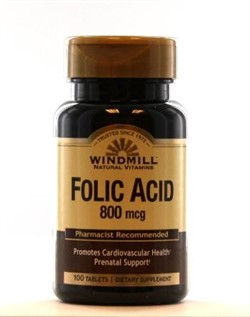 Folic Acid (100 tab) - фото 5908