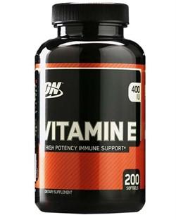 Vitamin E (220 softgels) - фото 5920