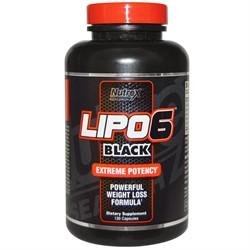 Lipo 6 Black (120 caps) - фото 5961