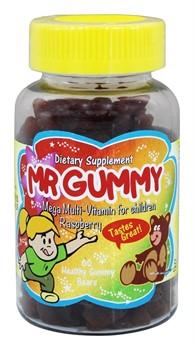 Mr. Gummy, children`s multy-vitamins (60 gummies) - фото 6156