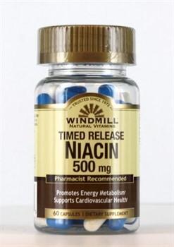 Niacin (60 caps) - фото 6172