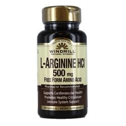 L-Arginine HCI (50 caps) - фото 6178