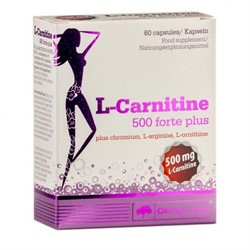 L-Carnitine 500 Forte Plus (60 caps) - фото 6258