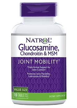 Glucosamine, Chondroitin & MSM (150 tab) - фото 6383