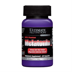 Melatonin 3 mg (60 caps) - фото 6401