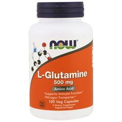 L-Glutamine (120 caps) - фото 6430