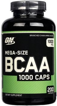 BCAA 1000 Caps (200 caps) - фото 6464