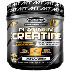 100% Platinum Creatine (400 gr) - фото 6509