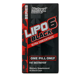 Lipo 6 Black Ultra Concentrate (60 caps) - фото 6518