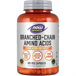 Branched-Chain Amino Acids (120 caps) - фото 6581