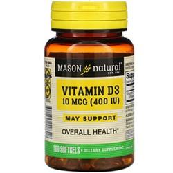 Vitamin D 3 (100 softgels) - фото 6591