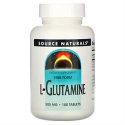L-Glutamine 500 mg (100 tab) - фото 6595