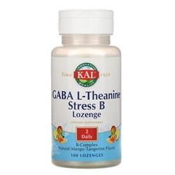 Gaba L-Theanine Stress B (100 tab) - фото 6597