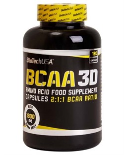 BCAA 3D (180 caps) - фото 6612
