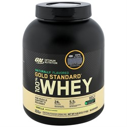 100% Whey Gold Standard Natural (2273 gr) - фото 6668