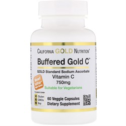 Buffered Gold C 750 mg (60 caps) - фото 6688