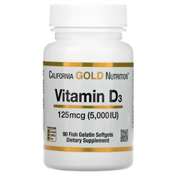 Vitamin D 3 5000 IU (90 softgels) - фото 6690