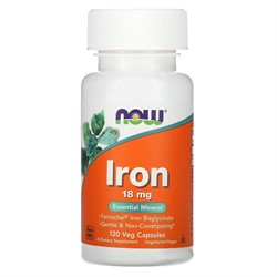 Iron 18 mg (120 caps) - фото 6763