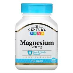 Magnesium 250 mg (110 tab) - фото 6765