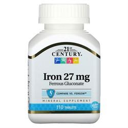Iron 27 mg (110 tab) - фото 6766