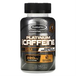 100% Platinum Caffeine 220 mg (125 tab) - фото 6767