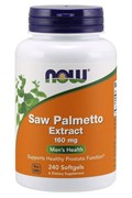 Saw Palmetto 160 mg (240 softgels)