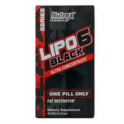 Lipo 6 Black Ultra Concentrate (60 caps)