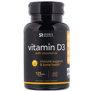 Vitamin D 3 125 mcg (30 softgels)