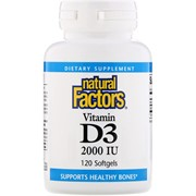Vitamin D 3 2000 IU (120 softgel)