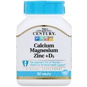 Calcium Magnesium Zinc+D3 (90 tab)