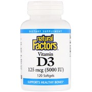Vitamin D 3 (120 softgels)