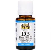 Vitamin D 3 1000 IU (15 ml)