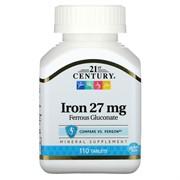 Iron 27 mg (110 tab)